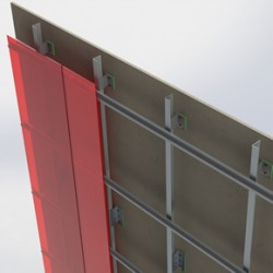 BIM ready cladding support systems
