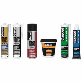 Geocel's redesigned sealant and adhesive ranges