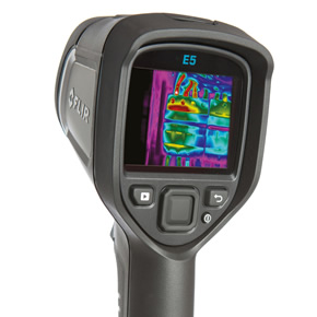 FLIR E5 thermal imaging camera