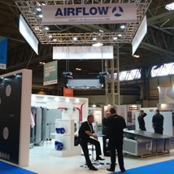 Ventilation solutions from Airflow at UK Construction Week