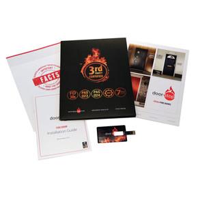 Door-Stop fire door brochures