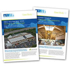 Rooflight Case Studies from NARM