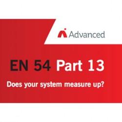 Advanced infographic on EN54-13
