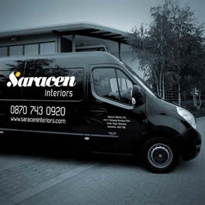 Saracen begins office fit out