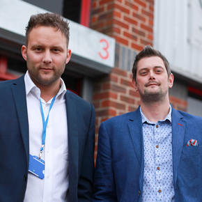 Oli Ballard (L) and Adi Day (R), new Purplex directors