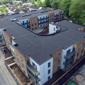IKO UPXL roof system