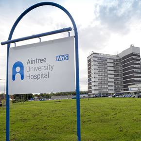 Aperio escutcheons specifed for Aintree University Hospital