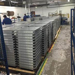 Gilberts' aluminium floor grilles