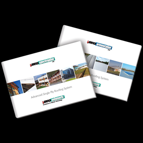 Single ply brochures