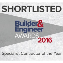 Stannah shortlisted for Specialist Contractor of the Year award