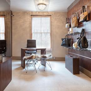 Expona Commercial flooring for Handbag Clinic