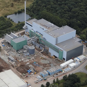 Protan SE 1.2mm at Hartlebury Energy of Waste plant