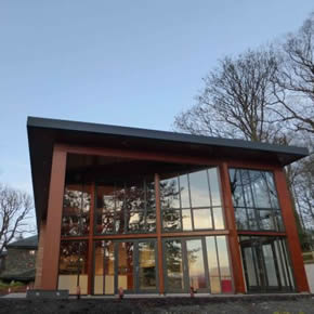 Natural ventilation for Theatre by the Lake cafe