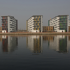 Precast concrete structures - University of Essex, student accommodation