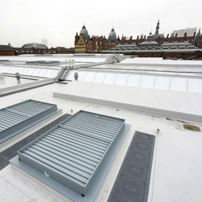 Kirkgate Market with Sarnafil Plus roofing solution