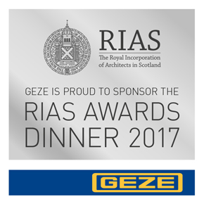 RIAS Awards Dinner, celebrating Scottish architecture