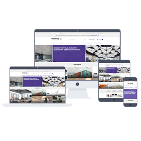 Armstrong Ceiling Solutions new website