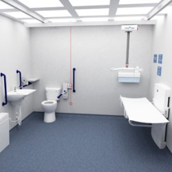 Accessible toileting from Clos-o-Mat