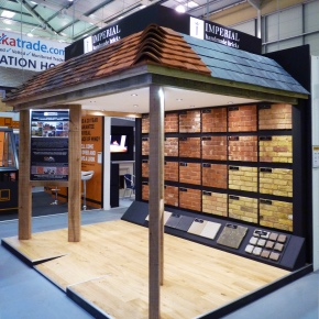 Imperial Bricks stand at NSBRC