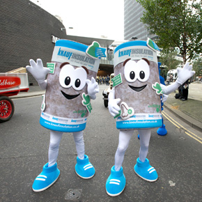Knauf Insulation joins WCoBM float at Lord Mayor's Show