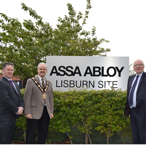 Lisburn Mayor ASSA ABLOY Security Doors
