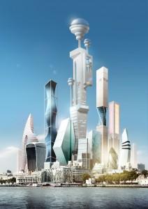 London's future skyline