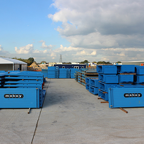 New London depot for Mabey Hire