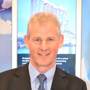 Mike Lumsden, IAI chairman GCC branch