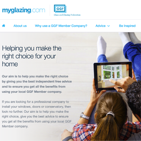 MyGlazing.com Homepage