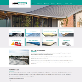 New IKO polymeric website