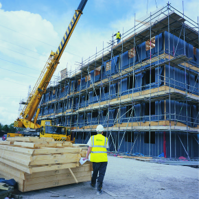Off-site manufacture: timber frame