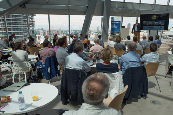 There were more than 80 delegates at the 2016 Passivhaus Awards.