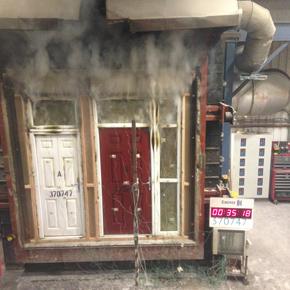 REHAU AGILA fire door