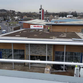 Protan PVC membrane specified to create green roof