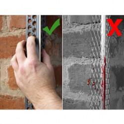 Renderplas PVCu beading vs stainless steel