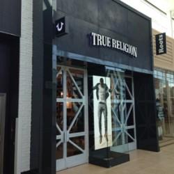 True Religion store façade created using ArmourFX
