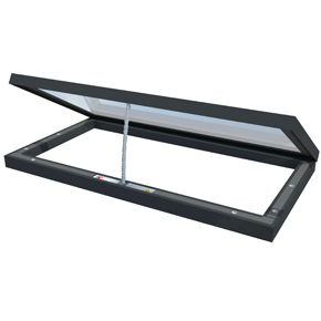 Roof Maker Hinged Opening Flat Rooflight