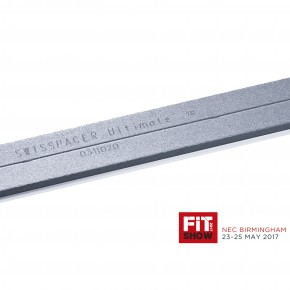 SWISSPACER ULTIMATE Laser Marking at FIT SHOW 2017