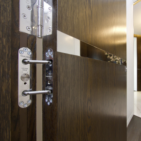 Powermatic Concealed Door Closers Used On New Thames
