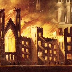 Fire at the Houses of Parliament