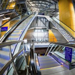 Leeds Station Southern Entrance escalators
