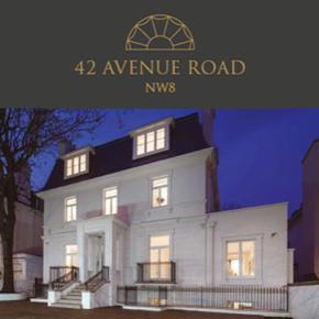 42 Avenue Road luxury housing development. St John's Wood, London
