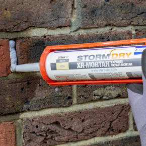 XR Mortar in use