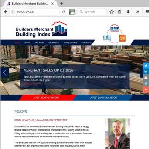 Builders Merchant Building Index (BMBI) website