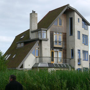 Self-build home in the Netherlands