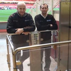 TK Encasa platform lift at the Riverside Stadium