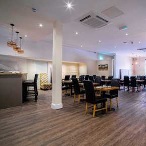 The Grand Hotel, Swansea with Affinity255 vinyl flooring.