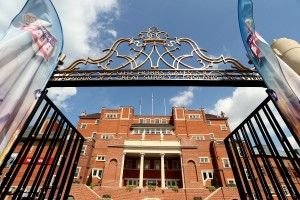 A general view of the Pavilion at the Kia Oval