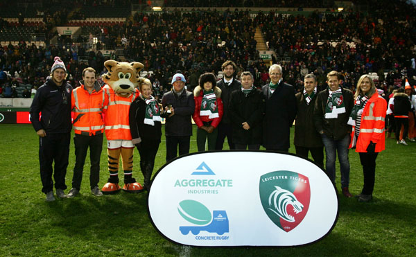 The programme officially launched on Sunday 20th November at the home fixture of Leicester Tigers vs Harlequins.