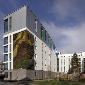Crome Court (student housing), University Of East Anglia, Norwich, UK